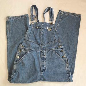 Guess Vintage Bib Overalls Jeans